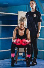 HANNAH SPEARRITT for Sport Relief Celebrity Boxing 2018