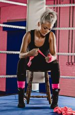 HANNAH SPEARRITT for Sport Relief Celebrity Boxing 2018