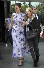 HAYLEY ATWELL Arrives at Directors Guild of America in Los Angeles 04/15/2018