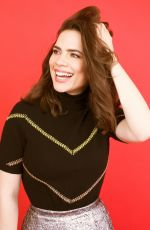 HAYLEY ATWELL for Bustle Magazine, April 2018