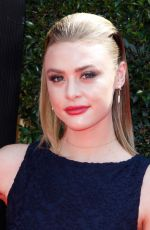 HAYLEY ERIN at Daytime Emmy Awards 2018 in Los Angeles 04/29/2018
