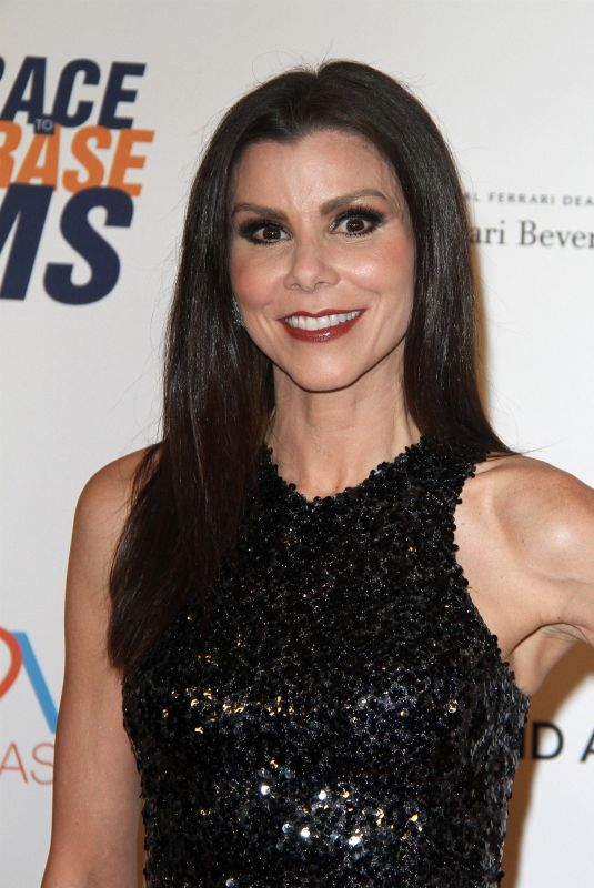 HEATHER DUBROW at Race to Erase MS Gala 2018 in Los Angeles 04/20/2018