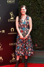 HEATHER TOM at Daytime Emmy Awards 2018 in Los Angeles 04/29/2018