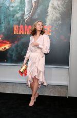 HILARIE BURTON at Rampage Premiere in Los Angeles 04/04/2018