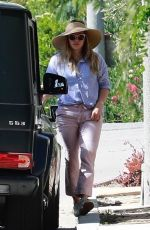 HILARY DUFF at Her Sons Baseball Game in Studio City 04/14/2018