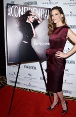 HILARY SWANK at LA Confidential Women of Influence Issue Party in Beverly Hills 04/12/2018