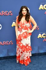 HILLARY SCOTT at 2018 ACM Awards in Las Vegas 04/15/2018