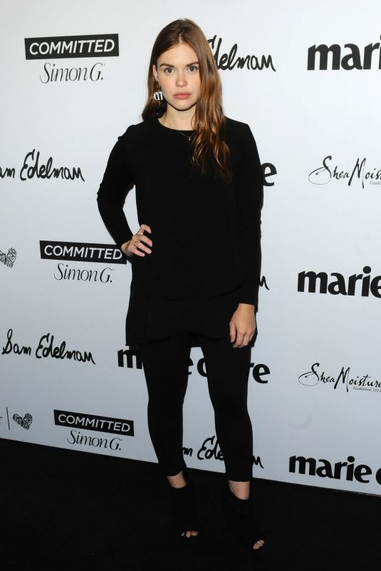HOLLAND RODEN at Marie Claire Fresh Faces Party in Los Angeles 04/27/2018