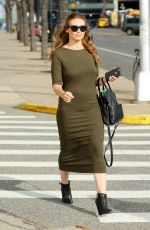 HOLLAND RODEN Leaves Beauty Con in New York 04/22/2018