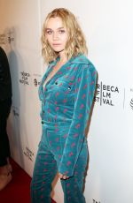 IMOGEN WATERHOUSE at Braid Premiere at Tribeca Film Festival in New York 04/22/2018