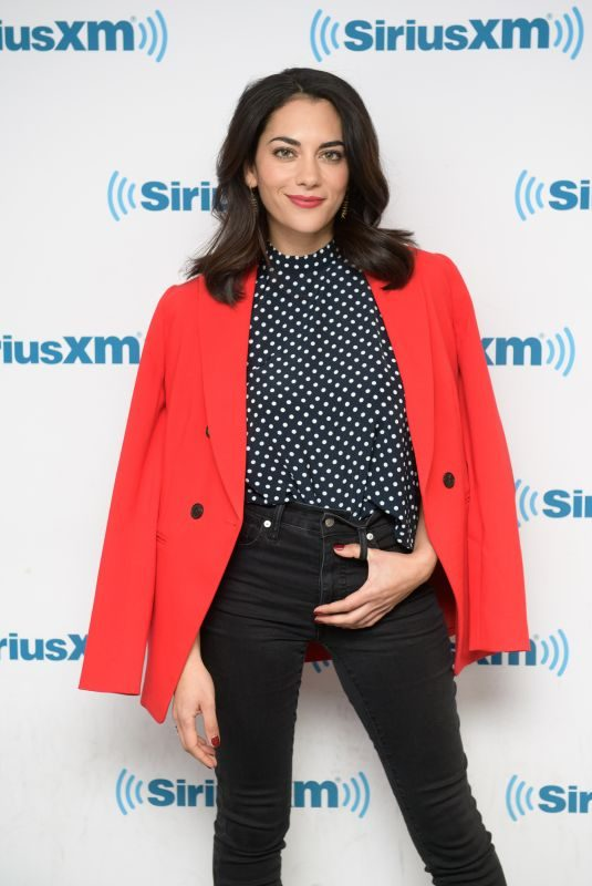INBAR LAVI at SiriusXM Studios in New York 04/11/2018