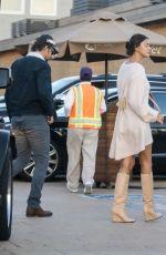 IRINA SHAYK and Bradley Cooper at Nobu in Malibu 04/17/2018