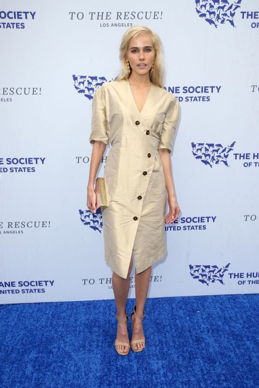 ISABEL LUCAS at Humane Society of the United States' To the Rescue Gala in Los Angeles 04/21/2018
