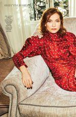 ISABELLE HUPPERT in Grazia magazine, April 2018