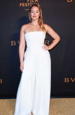 ISKRA LAWRENCE at Bvlgari Premiere at Tribeca Film Festival 04/26/2018