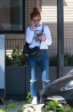 ISLA FISHER Leaves Barneys New York in Beverly Hills 04/19/2018