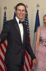 IVANKA TRUMP at State Dinner Honoring President Emmanuel Macron in Washington 04/242018
