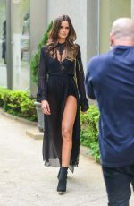 IZBEL GOULART on the Set of a Photoshoot in Sao Paulo 04/04/2018