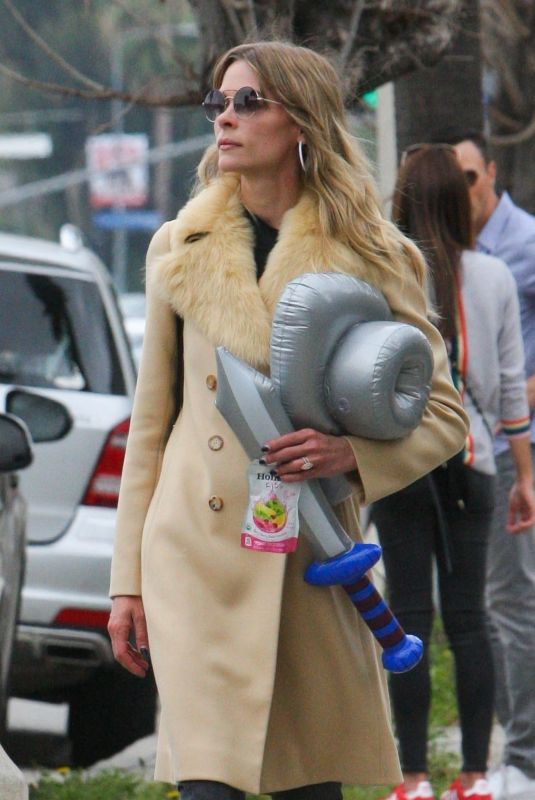 JAIME KING Out and About in Los Angeles 04/07/2018