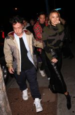 JAMIE CHUNG Leaves Delilah in West Hollywood 04/19/2018