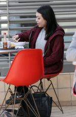 JANEL PARRISH Out for Lunch in Los Angeles 04/06/2018