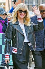 JANUARY JONES at Build Series Studios in New York 04/12/2018