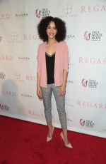 JASMIN SAVOY at Regard Magazine Spring 2018 Cover Unveiling Party in West Hollywood 04/03/2018