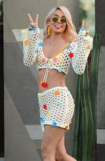 JASMINE SANDERS at Coachella Valley Music and Arts Festival in Palm Springs 04/13/2018