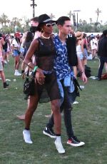 JASMINE TOOKES at Coachella Valley Music & Arts Festival in Palm Springs 04/14/2018