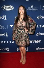 JAZZ JENNINGS at Glaad Media Awards Rising Stars Luncheon in Beverly Hills 04/11/2018