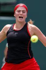 JELENA OSTAPENKO at 2018 Miami Open Final in Key Biscayne 03/31/2018