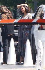 JENNA DEWAN Arrives at NBC Universal Studios in Los Angeles 04/04/2018