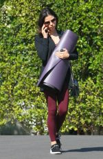 JENNA DEWAN Heading to a Yoga Class in Los Angeles 04/11/2018