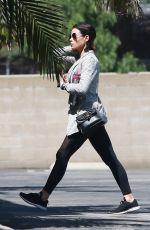 JENNA DEWAN Leaves a Gym in Los Angeles 04/09/2018