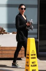 JENNA DEWAN Leaves Soul Cycle in West Hollywood 04/03/2018