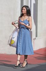 JENNA DEWAN Out Shopping in Chinatown in Los Angeles 04/07/2018