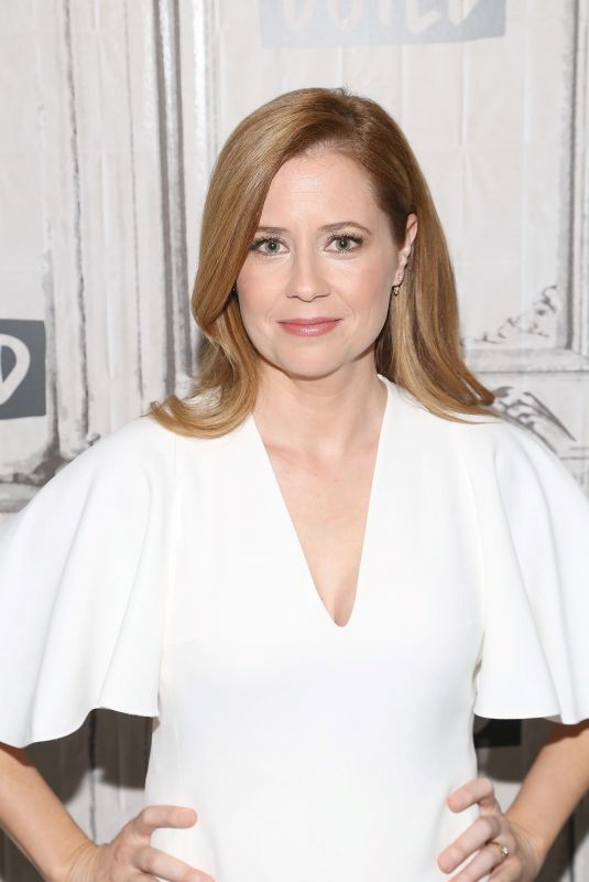 JENNA FISCHER at Build Series in New York 03/23/2018