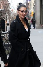 JENNI JWOWW FARLEY Arrives at Build Series in New York 04/06/2018