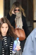 JENNIFER ANISTON and AMANDA ANKA Out in New York 04/27/2018
