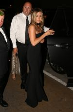 JENNIFER ANISTON at Gwyneth Paltrow and Brad Falchuk's Engagement Party in Los Angeles 04/14/2018