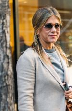 JENNIFER ANISTON Leaves Nello Restaurant in New York 04/23/2018
