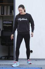 JENNIFER GARNER at Body by Simone in West Hollywood 04/14/2018
