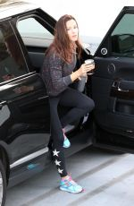 JENNIFER GARNER Leaves a Gym in West Hollywood 04/07/2018