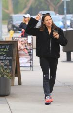 JENNIFER GARNER Out for Coffee in Brentwood 04/24/2018
