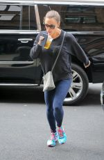 JENNIFER GARNER Out for Tea in New York 04/12/2018