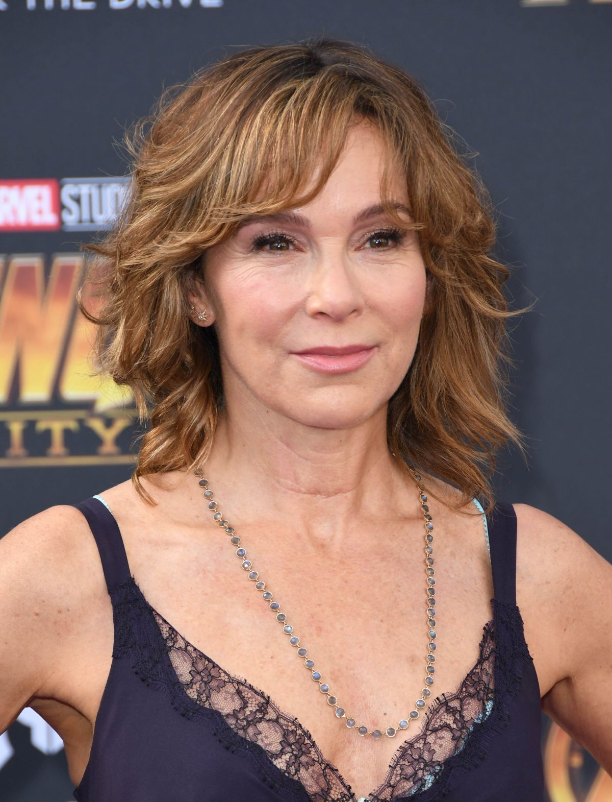 JENNIFER GREY at Avengers: Infinity War Premiere in Los ... Jennifer Grey