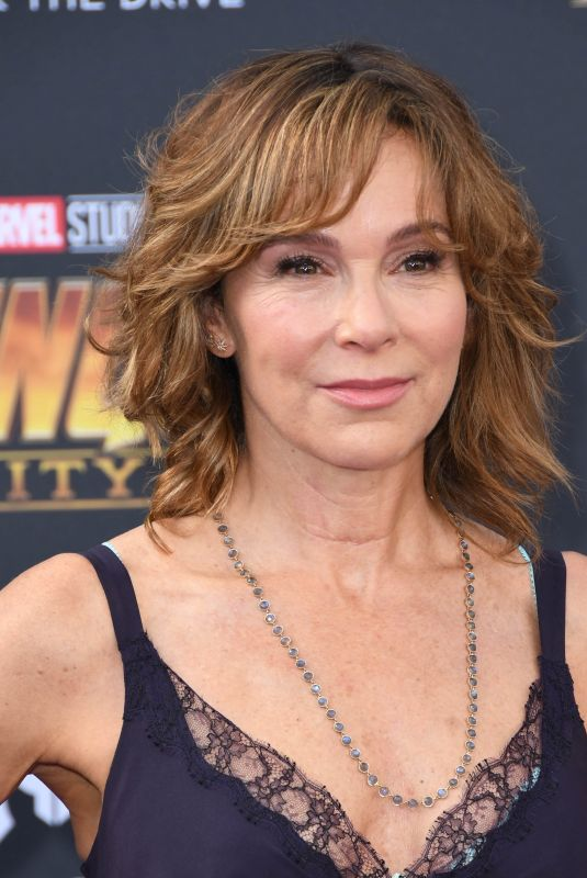 JENNIFER GREY at Avengers: Infinity War Premiere in Los Angeles 04/23/2018