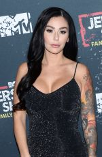 JENNIFER JWOWW FARLEY at Jersey Shore Family Vacation Premiere in New York 04/04/2018
