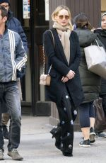 JENNIFER LAWENCE and Jeremy Plager Heading to Dinner in New York 04/11/2018