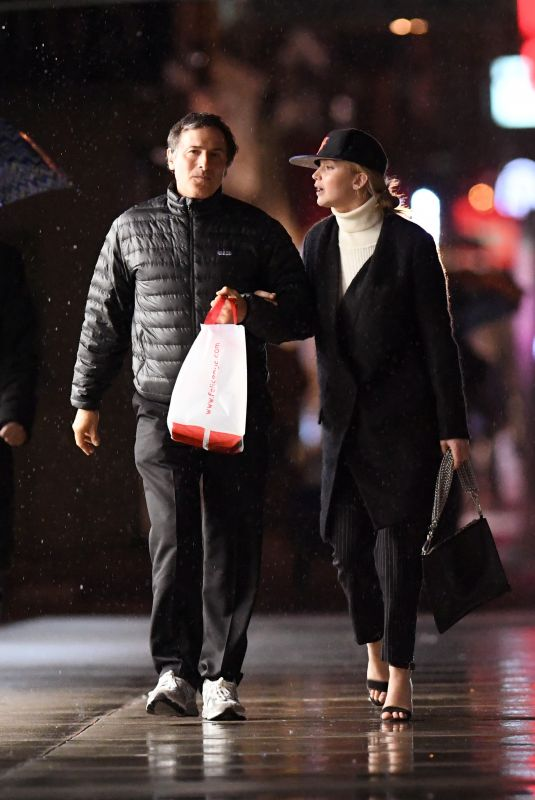 JENNIFER LAWRENCE and David O. Russell Out for Dinner in New York 04/26/2018